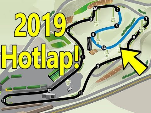 A Lap Of The 2019 NASCAR Sonoma Layout In IRacing
