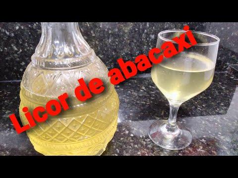 Licor de Abacaxi (cascas)