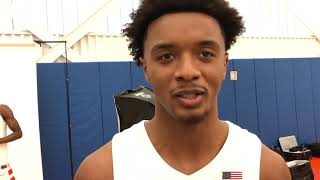 Syracuse Basketball Media Day - Elijah Hughes