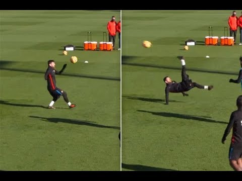 Lionel Messi ● The Most Amazing Goals In Training ► Luckily They Were Recorded !