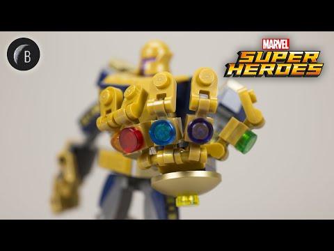 Vidéo LEGO Marvel 76141 : Le robot de Thanos