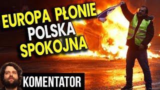 Europa Płonie – We Francji i Hiszpanii Policja Strzela do Protestujących – Analiza Komentator PL