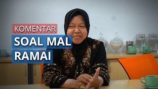 Mal di Surabaya Penuh Sesak Jelang Lebaran 2020 Ini Kata Wali Kota Tri Rismaharini