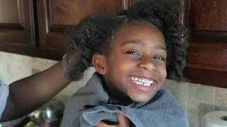 How To DETANGLE, WASH, CONDITION, And STYLE Black Kids Curly Hair Care! Our Wash Day Routine!