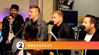 Backstreet Boys - No Diggity (Blackstreet Cover) - Radio 2 Breakfast Show Session