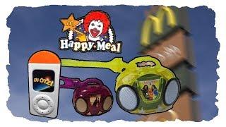 Kennst DU noch die RADIOS aus dem HAPPY MEAL von MCDONALD's?
