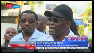 News Centre: ODM delegates meet - Part One [05/05/2017