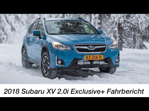 2018 Subaru XV 2.0i Exclusive+ Fahrbericht / Das etwas andere Kompakt-SUV - Autophorie