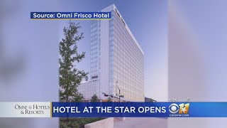 Official Hotel Of The Dallas Cowboys Opens
