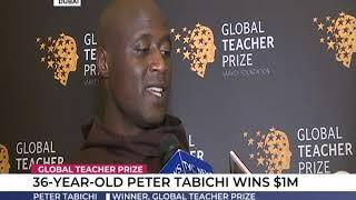 36-year old Peter Tabichi wins $1m