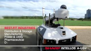 Sharp INTELLOS™ A-UGV - Automated Unmanned Ground Vehicle Demo