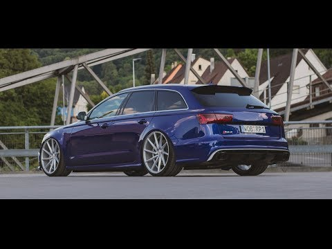 Blue Audi RS6  - Tuning | Vossen Wheels