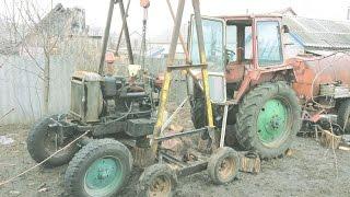 ЮМЗ ОТПАХАЛСЯ! Ремонт КПП на тракторе ЮМЗ-6АКЛ.