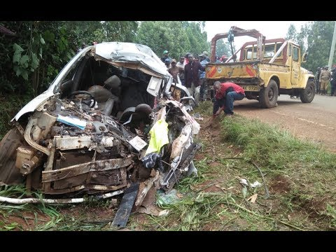 5 dead, three seriously injured in a road accident in Embu