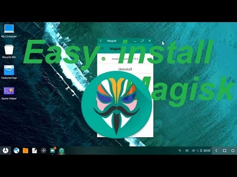 Phoenix OS Install Root Magisk - Androws Aio