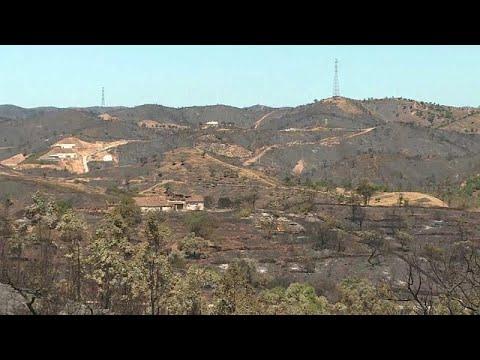 Monchique: O maior incêndio da Europa em 2018 foi dominado