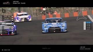 Gran Turismo™SPORT - Dragon Trail Seaside Nissan GTR Gr2 (online race) v2