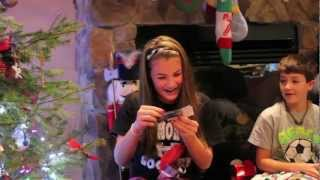 Liv's Reaction to Taylor Swift Tickets for Christmas!