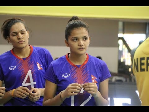Nepal Vs Bangladesh AVC Volleyball । Highlight|Nepplays Tv 2019