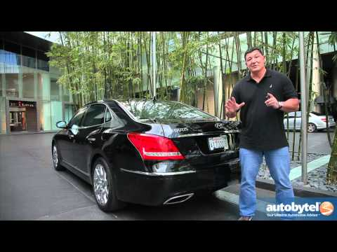 2012 Hyundai Equus: Video Road Test and Review