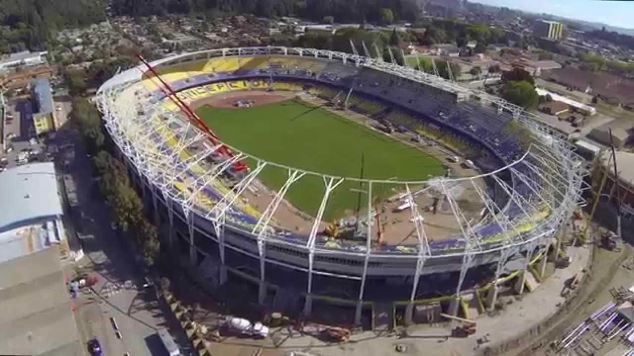 SKYVIEW – Estadio Ester Roa Rebolledo 2015