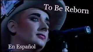 Boy George-To Be Reborn