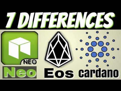 Neo vs Eos vs Cardano ( Comparison )