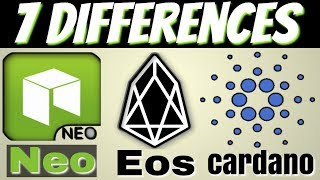 Neo vs Eos vs Cardano ( Comparison )