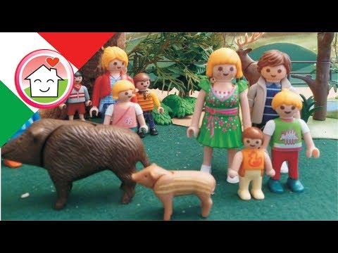 Playmobil film italiano Escursione allo Zoo - Famiglia Hauser