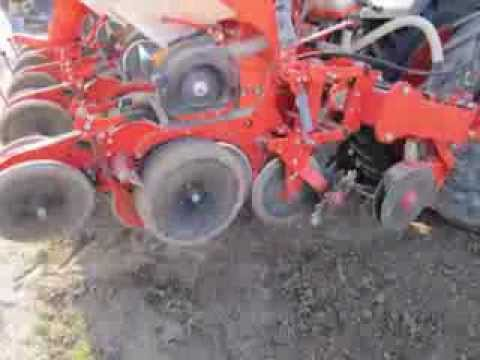 Test de semoirs Maxima 2, Planter 3 ou NG+4 pour semis de chou