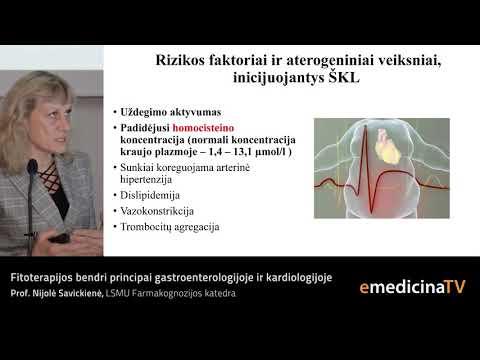 Hipertenzijos smeg rodikliai