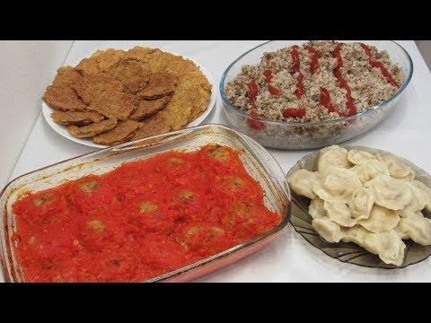 Готовлю 4 Блюда из 1кг ФАРША или что приготовить из фарша быстро и вкусно. Выпуск 2 видео
