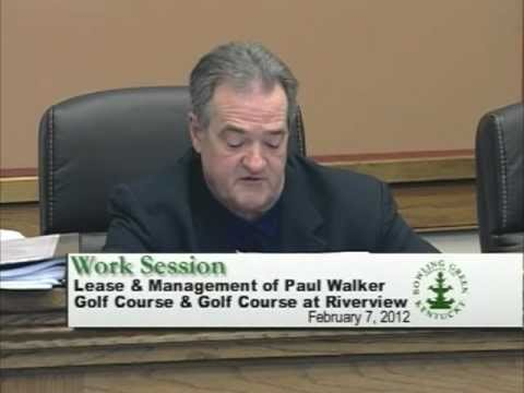 2/7/12 Board of Commissioners Work Session