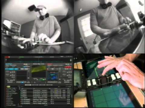 dJ dAb iPad DJ Rig First Build - VDJ | TouchOSC | PureData (Just a test... not putting on a show)