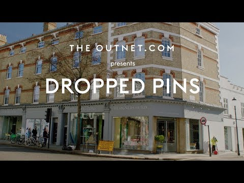 Tricia Guild & The Outnet: Dropped Pins series
