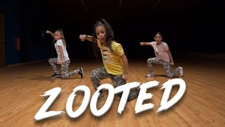 Becky G - Zooted ft. French Montana (Dance Video) Choreography   MihranTV
