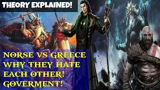 God of war 4- Norse and Greek HATE each other discussion!? NEW THEORY! Ruling Differences!