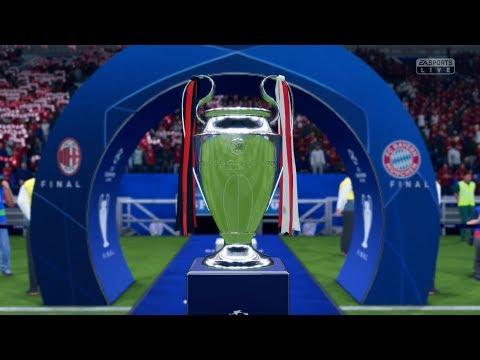 FIFA 19   UEFA CHAMPIONS LEAGUE FINAL - (A.C. MILAN) CAREER MODE