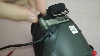 DJI HD FPV goggles cable lock