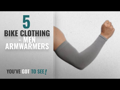 Bike Clothing - Men Armwarmers [2018]: UV Protection Cooling Arm Sleeves - UPF 50 Long Sun Sleeves