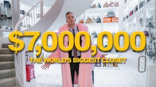 Inside the WORLD'S BIGGEST CLOSET | Ryan Serhant Vlog #99
