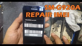 Samsung Galaxy S6 SM G920A Repair Imei 350000000006