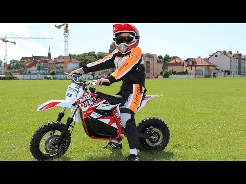 ECO NRG R1-M 350W 36V Electric Dirt Bike - In Action !!