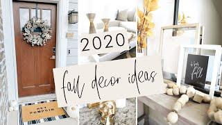 Easy & Cheap Fall Decor Ideas For 2020