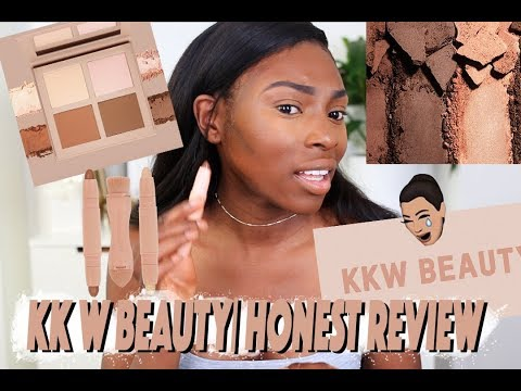 I TRIED TO BE NICE – KKW BEAUTY CONTOUR & HIGHLIGHT KIT FIRST IMPRESSIONS REVIEW
