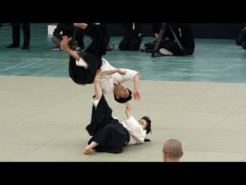 EXPLOSIVE Daito-ryu Aiki-jujutsu - 42nd Japanese Kobudo Demonstration (2019)