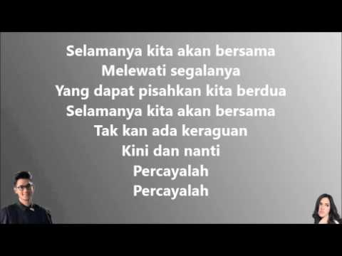 Afgan & Raisa - Percayalah (Lirik Video) - Lon B