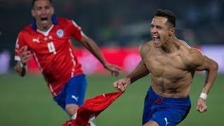 Chile vs Argentina 4-1 Full Penalties Final Copa America 2015