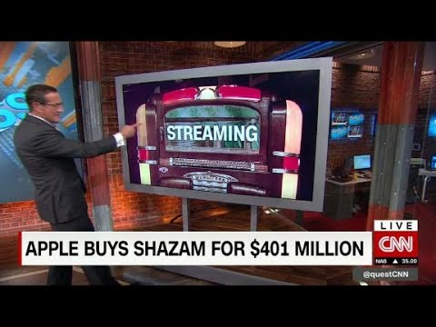 Siri, why is Apple buying Shazam?