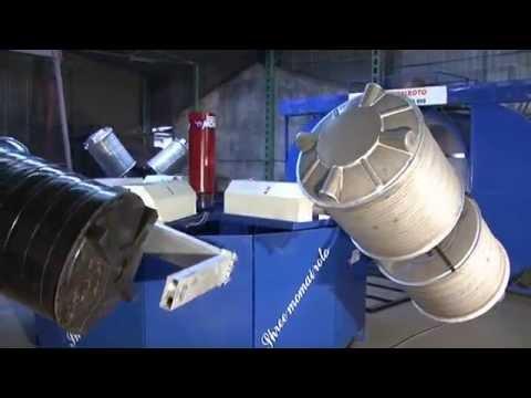 Sintex Type Water Tank Rotomolding Machine Four Arm Biaxial Machine